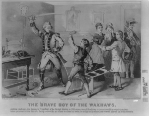 Brave Boy of the Waxhaws