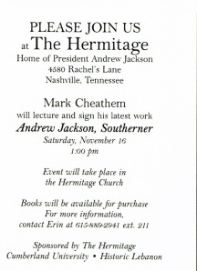 Hermitage invite back